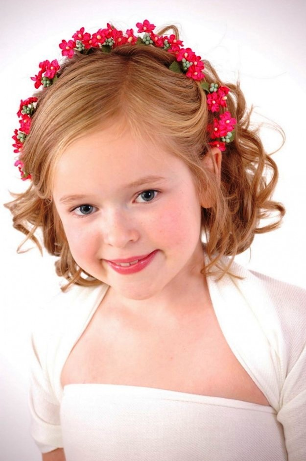4. Curly Hairstyle For Kids