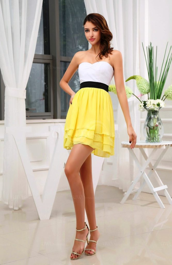 5-yellow colored outfit ideas for women