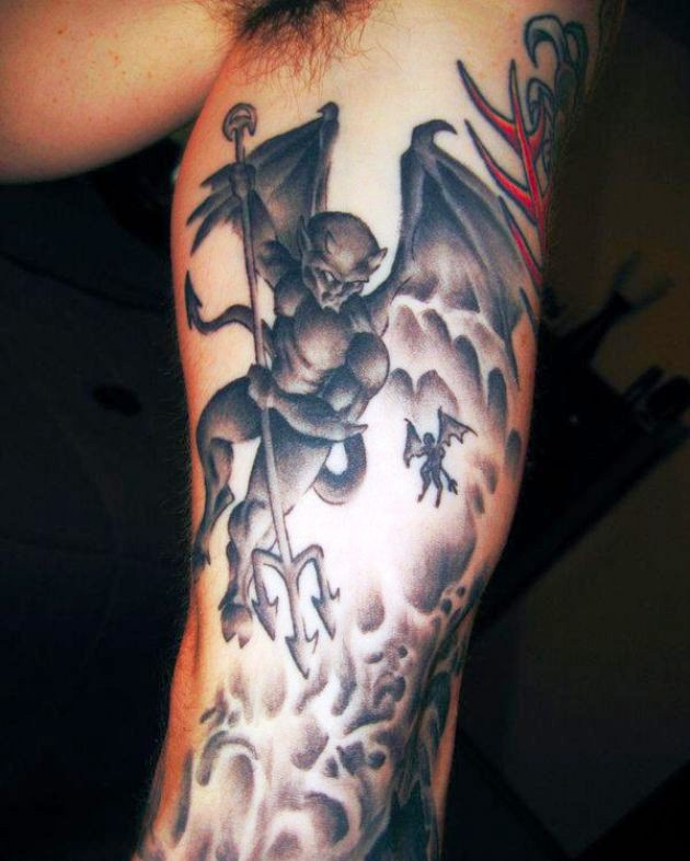 6-devil tattoos ideas