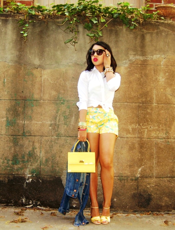 6-yellow colored outfit ideas for women