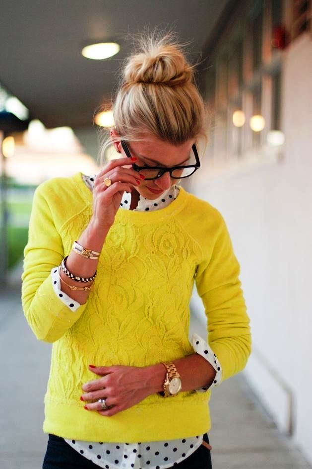 9-yellow colored outfit ideas for women