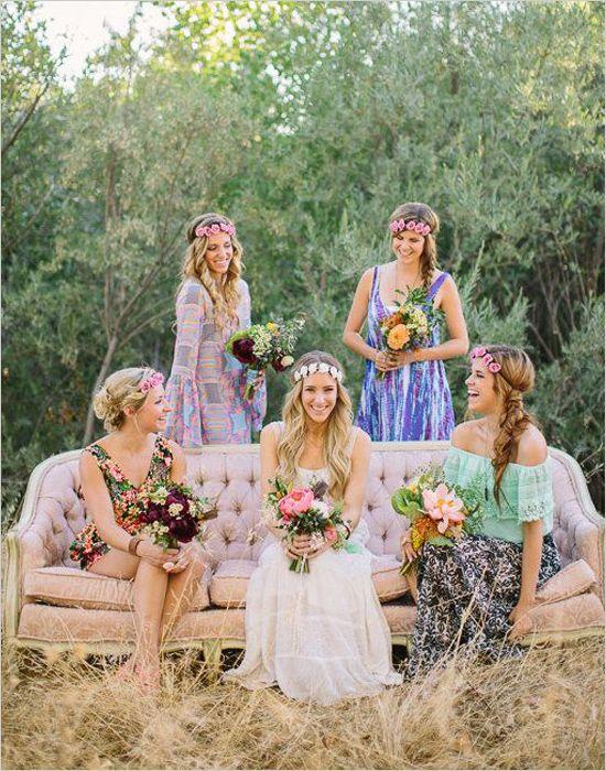 Beautiful Bohemian Bridesmaid Dresses Ideas (13)