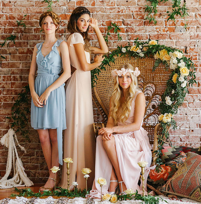 Beautiful Bohemian Bridesmaid Dresses Ideas (16)