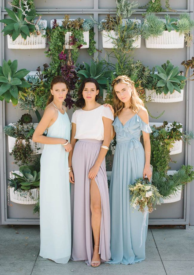 Beautiful Bohemian Bridesmaid Dresses Ideas (17)