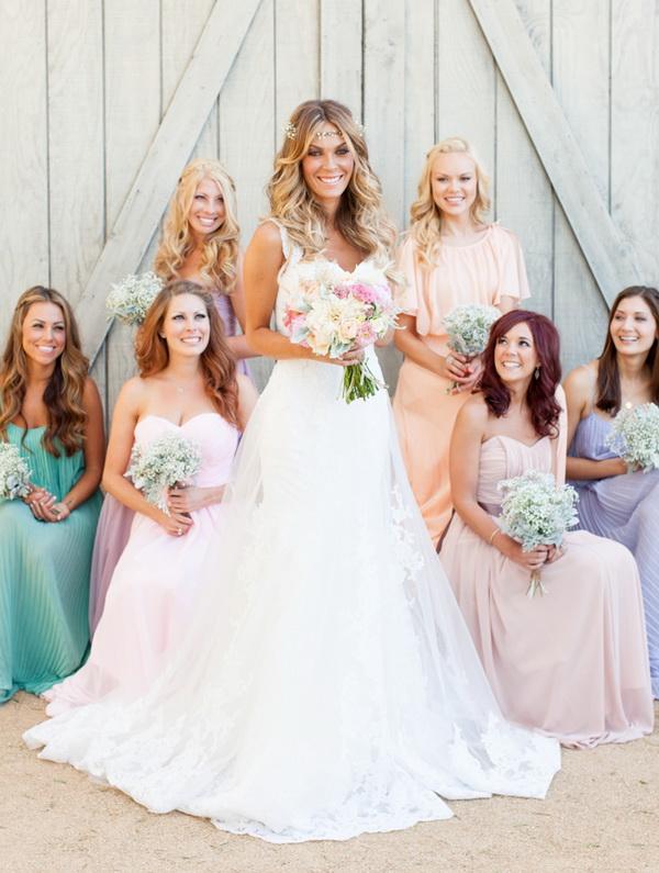 Beautiful Bohemian Bridesmaid Dresses Ideas (19)