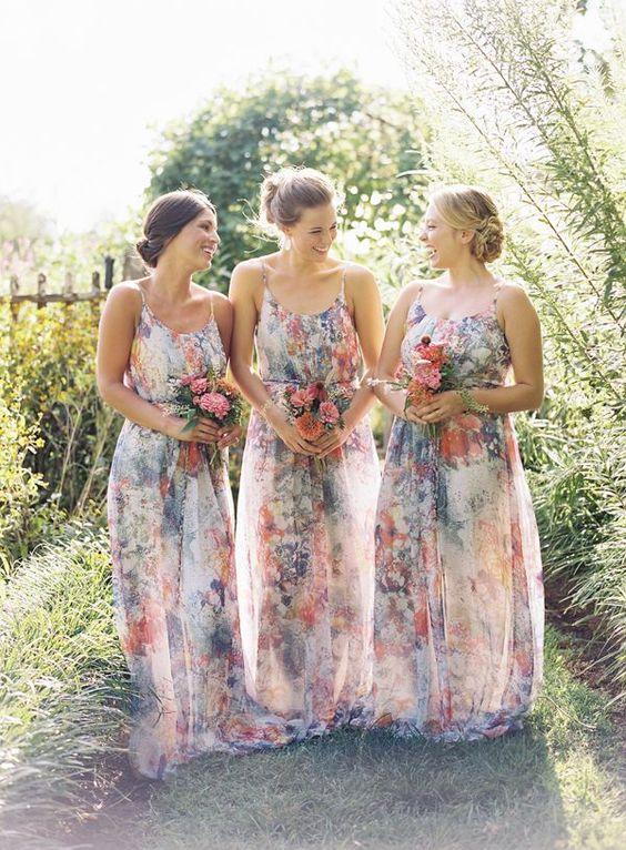Beautiful Bohemian Bridesmaid Dresses Ideas (2)