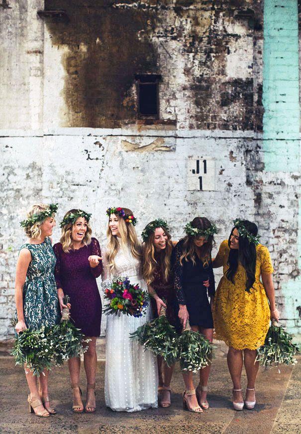 Beautiful Bohemian Bridesmaid Dresses Ideas (21)