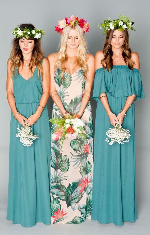 Beautiful Bohemian Bridesmaid Dresses Ideas (22)