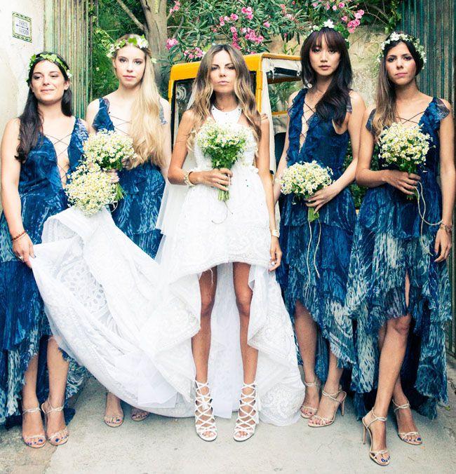 Beautiful Bohemian Bridesmaid Dresses Ideas (24)