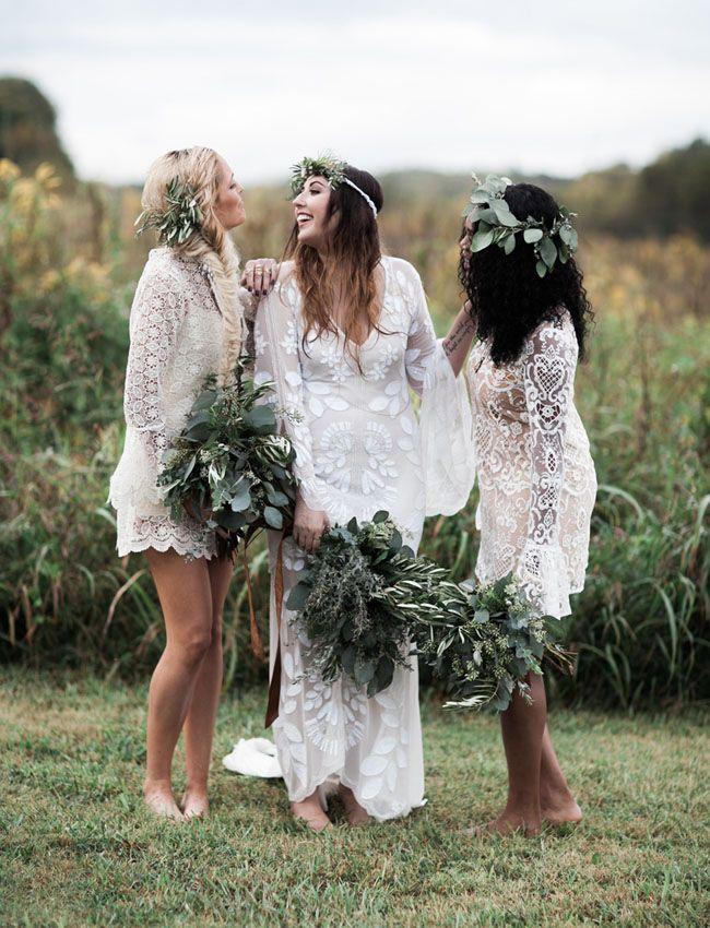 Beautiful Bohemian Bridesmaid Dresses Ideas (25)