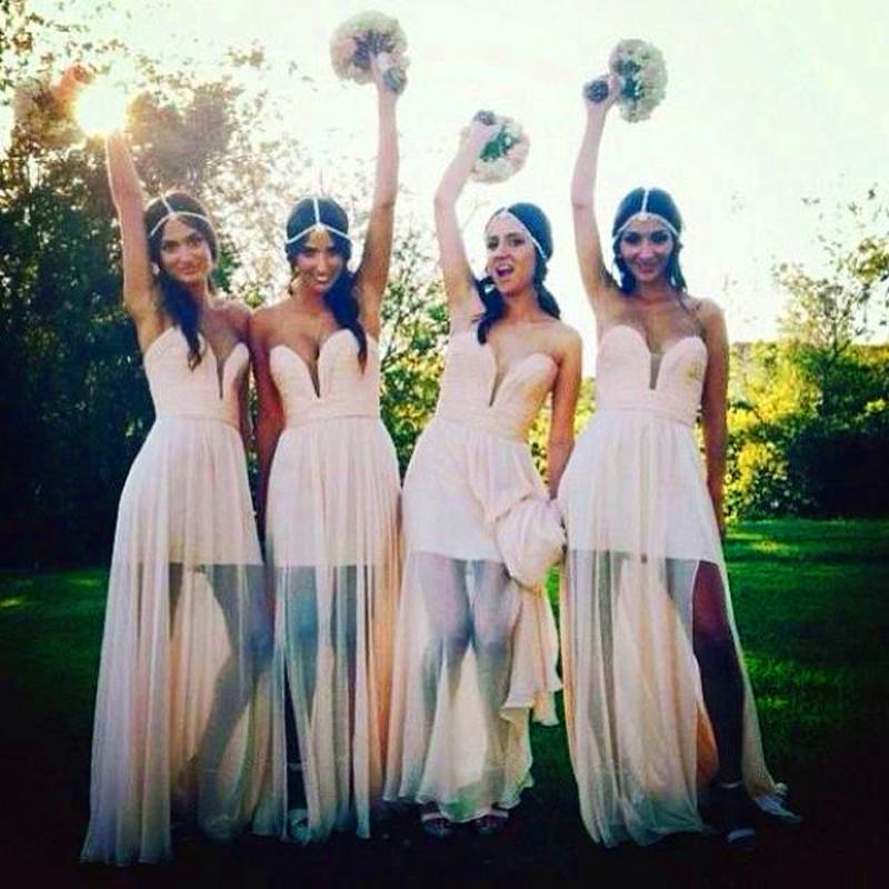 Beautiful Bohemian Bridesmaid Dresses Ideas (5)
