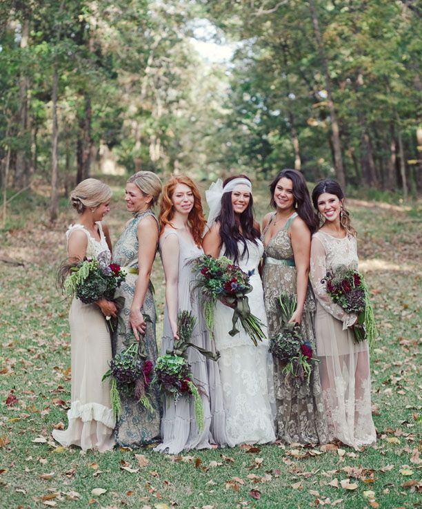 Beautiful Bohemian Bridesmaid Dresses Ideas (8)