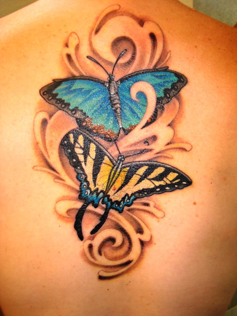 17-butterfly tattoo ideas