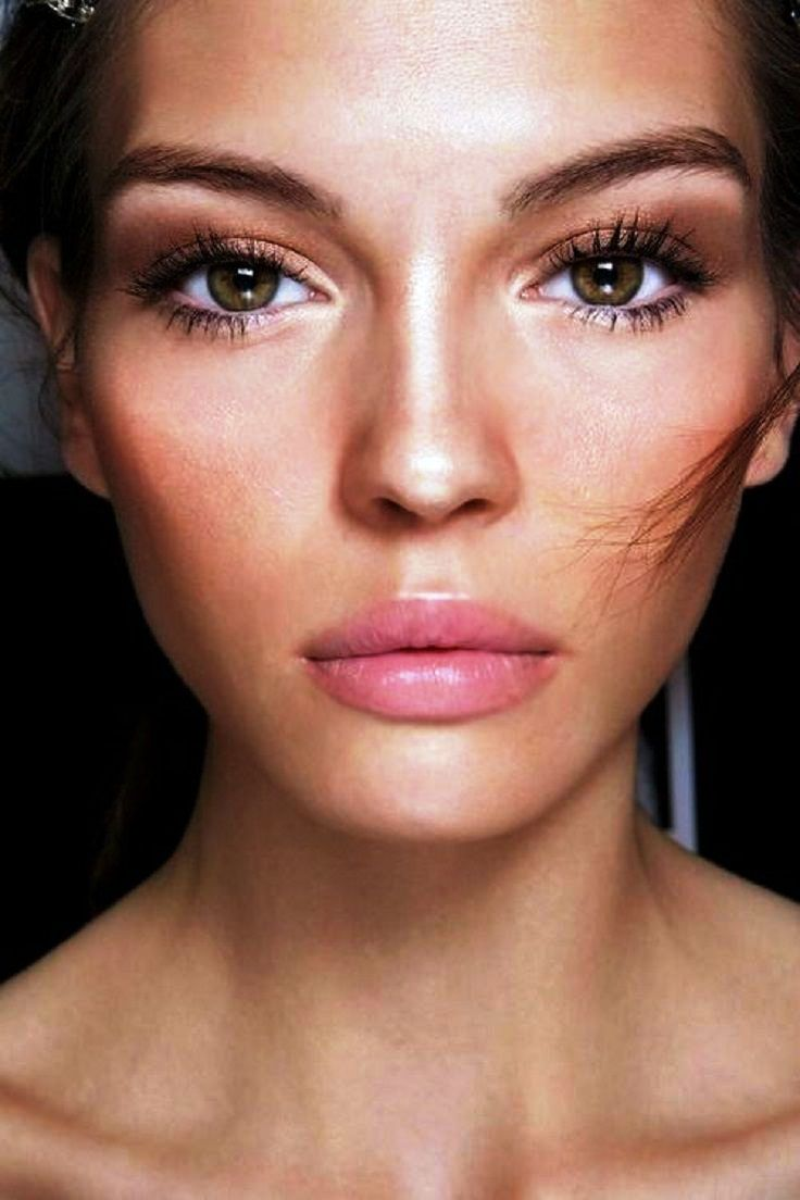 2-Glamorous pink lipstick makeup ideas