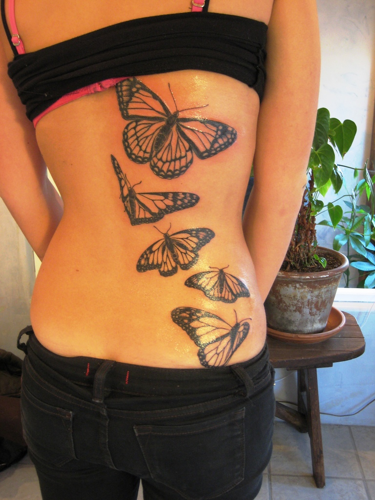 21-butterfly tattoo ideas