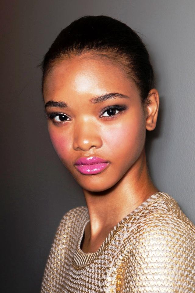 5-Glamorous pink lipstick makeup ideas