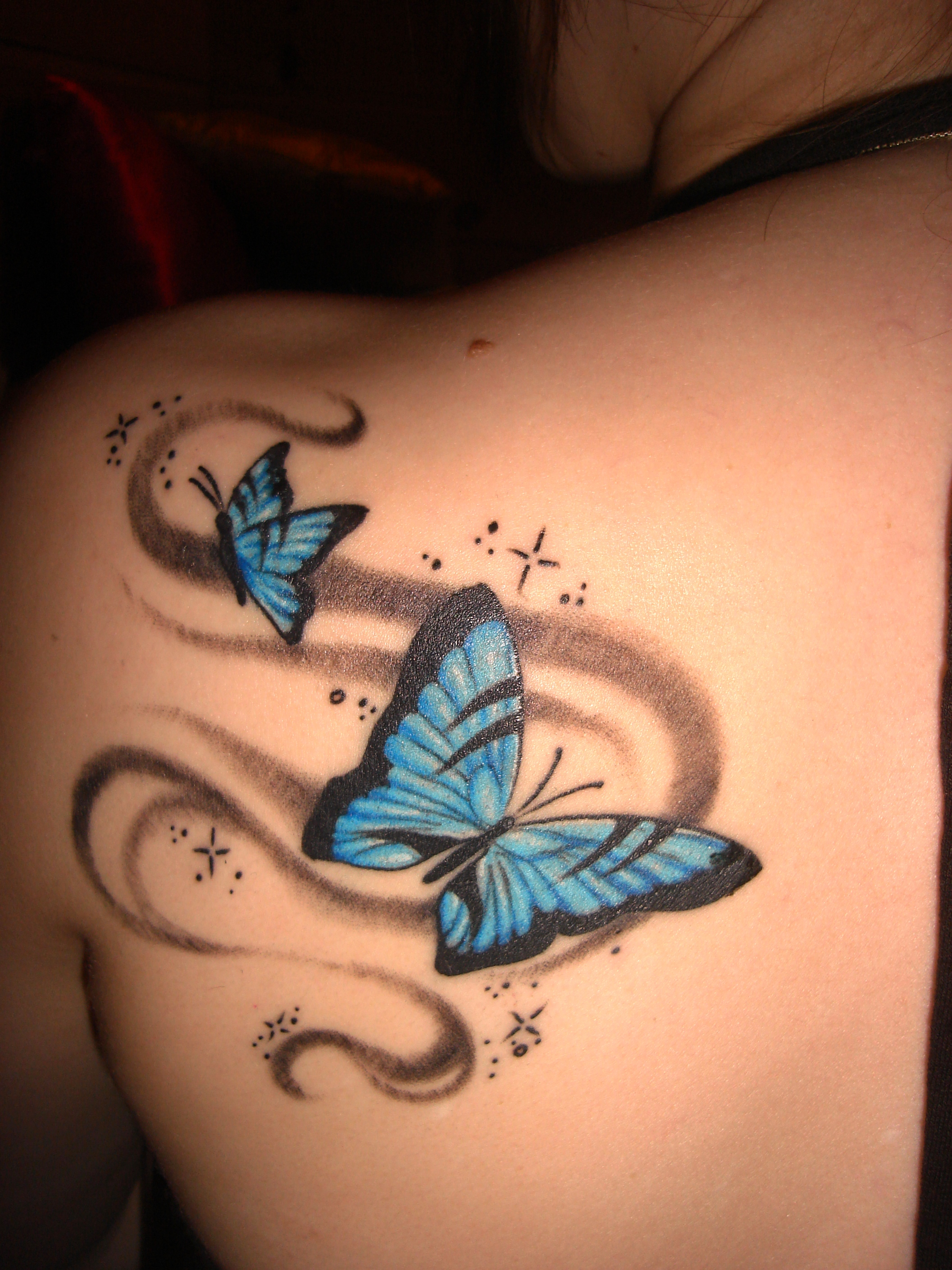 7-butterfly tattoo ideas