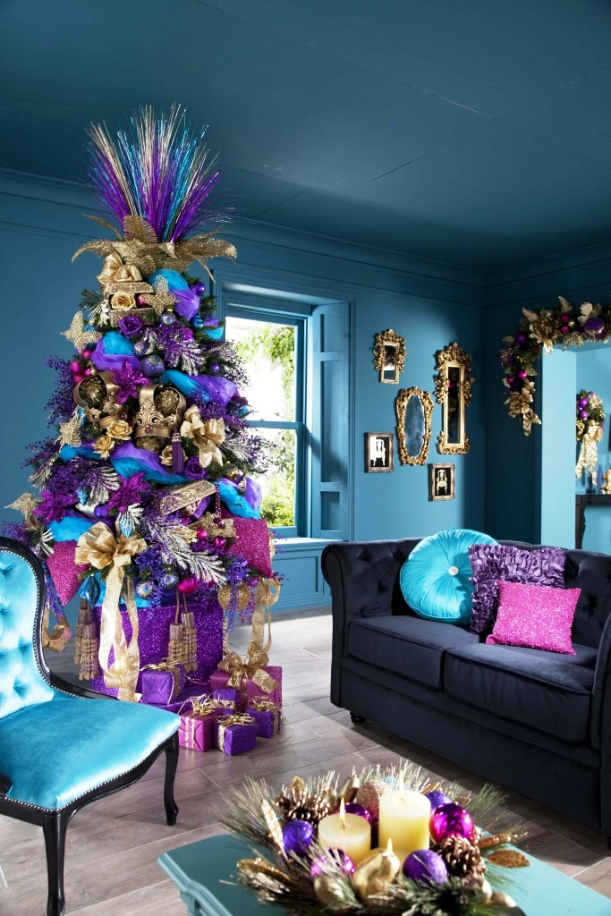 10-charming-christmas-tree-decorating-ideas