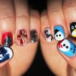 25 Cute Christmas Nail Art Ideas To Try