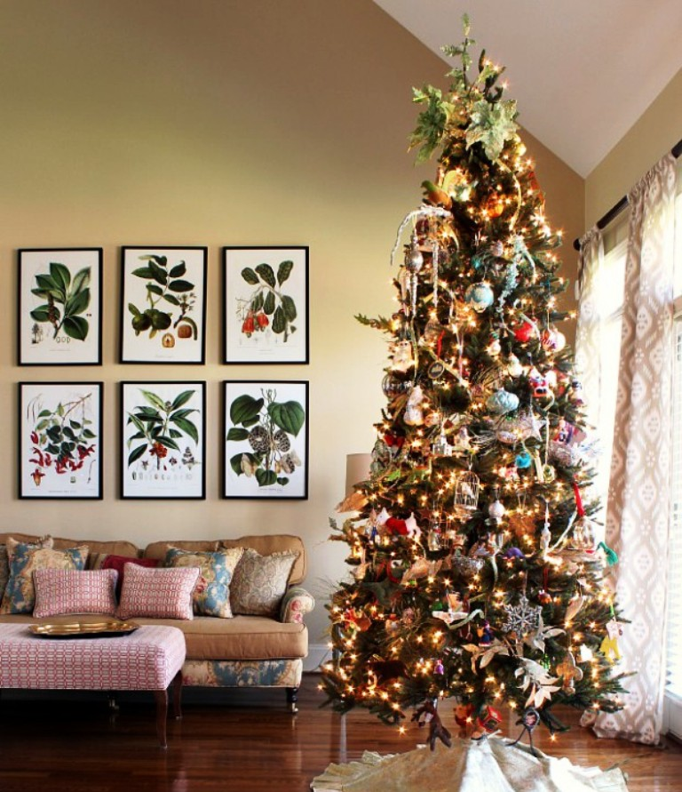 25 unique christmas tree decoration ideas inspired luv - Christmas tree decorating best ideas ...