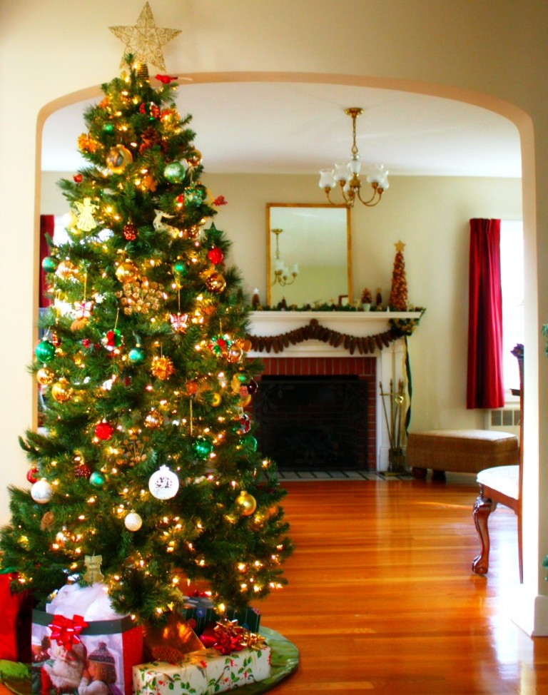 3-charming-christmas-tree-decorating-ideas