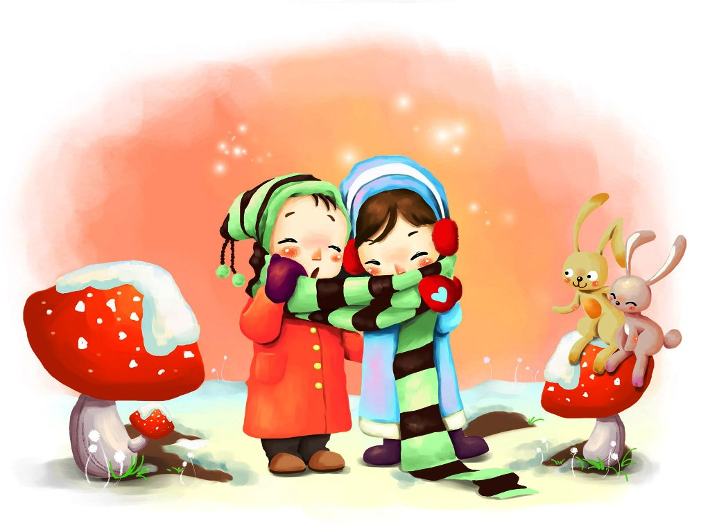 3-cute-cartoon-wallpapers