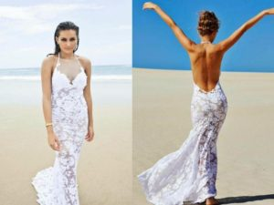 30 Awesome Beach Wedding Dresses Ideas