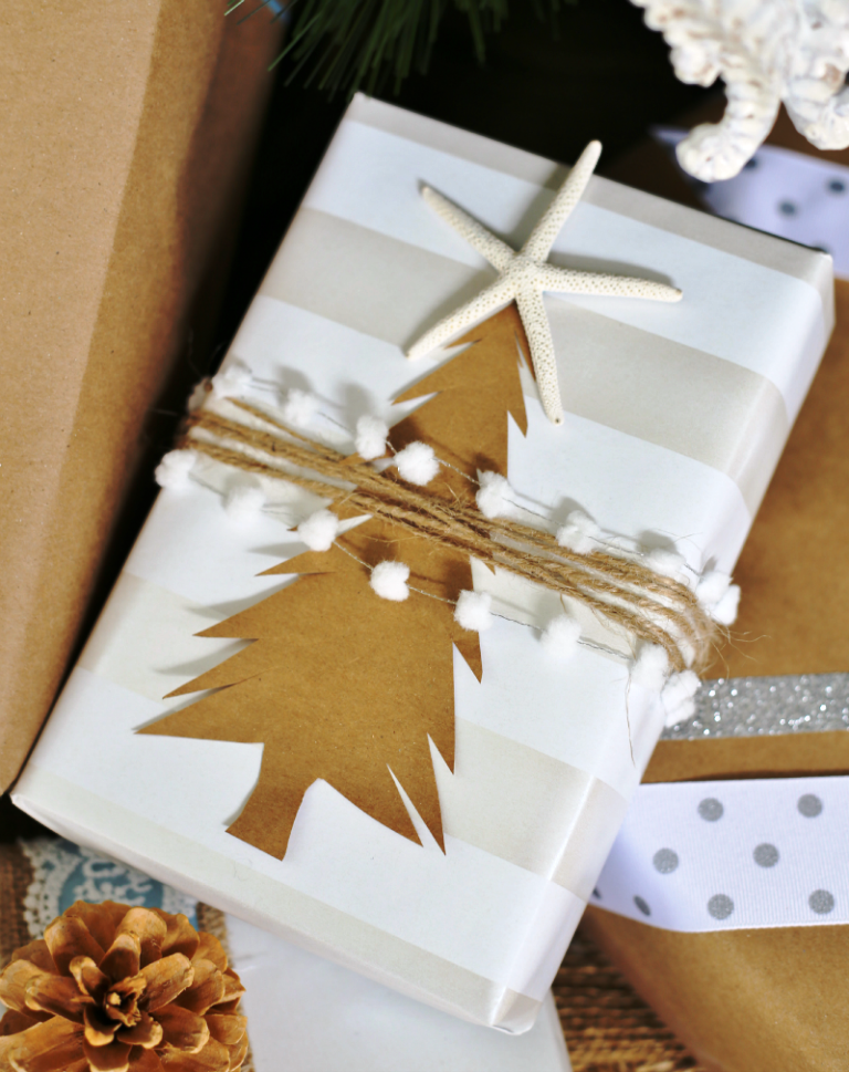 gift-wrapping-ideas-paper-christmas-tree