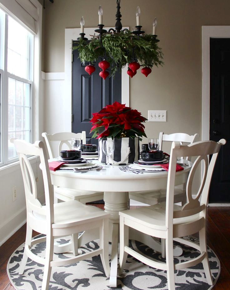 dinning-table-christmas-chandelier-ideas-to-try