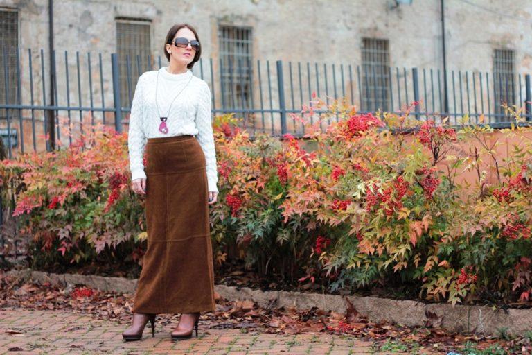 25 Long Skirt Ideas In Winter