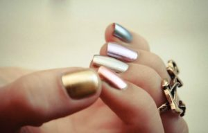 15 Metallic Nail Art Ideas For Women