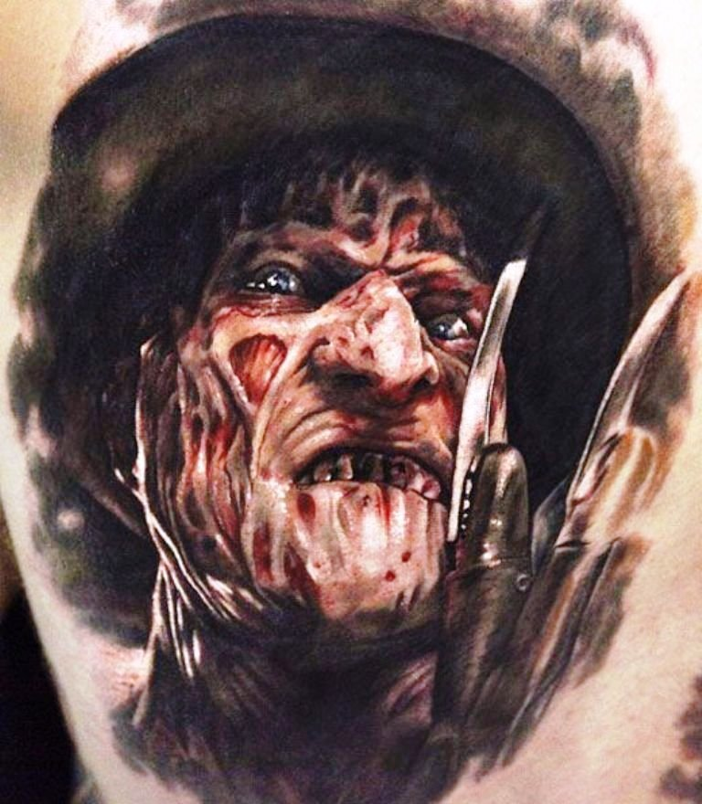 amazing-horror-tattoo