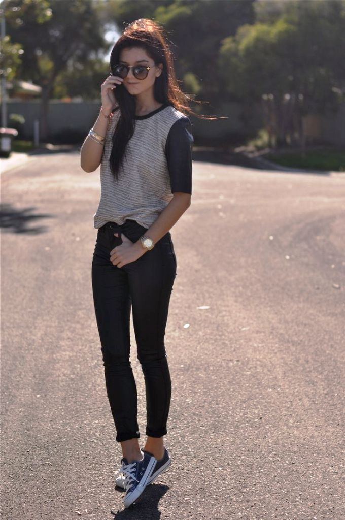 25 Black Jeans Outfit Ideas For Women To Try In 2017 u00b7 Inspired Luv