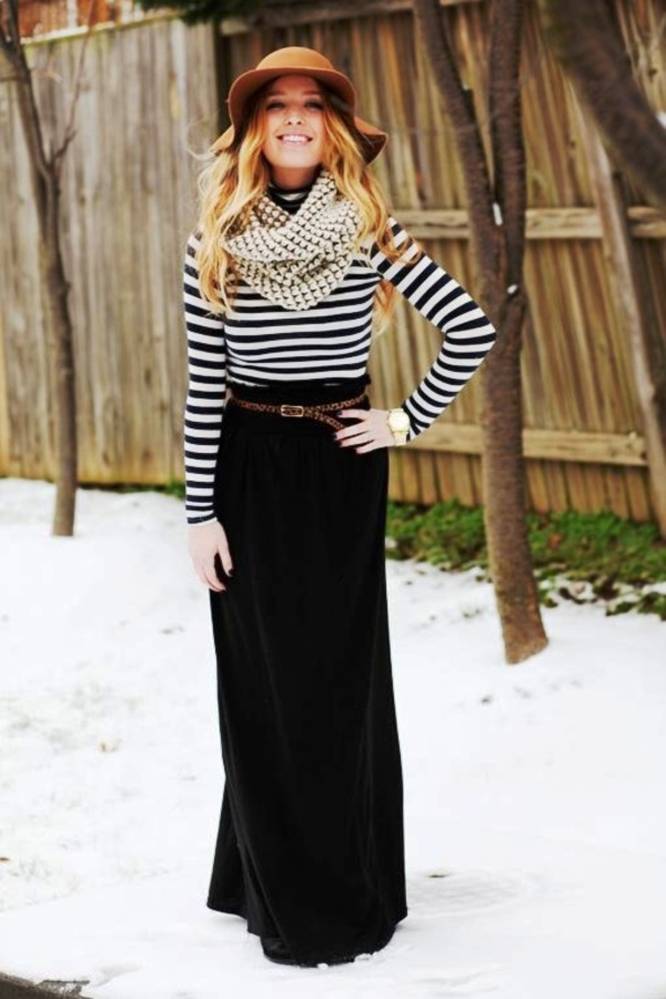 clever-and-stylish-ideas-to-wear-long-skirts-in-winter