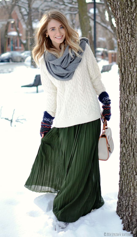 green-skirt-ideas