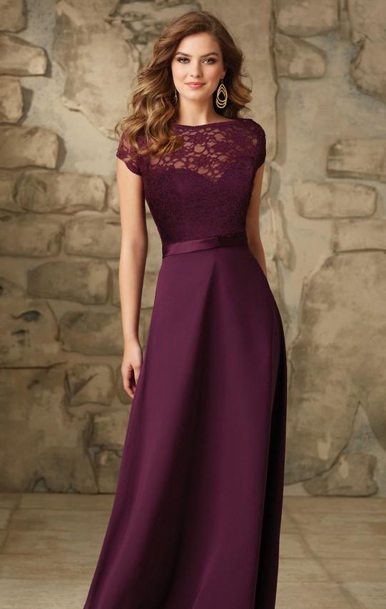 lace-long-bridesmaid-dresses