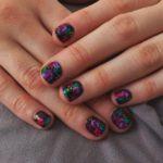 15 Color Contrasts Nail Art Ideas