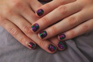 15 Color Contrasts Nail Art Ideas