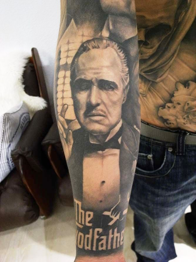 vito-corleone-the-godfather-tattoo-by-sart