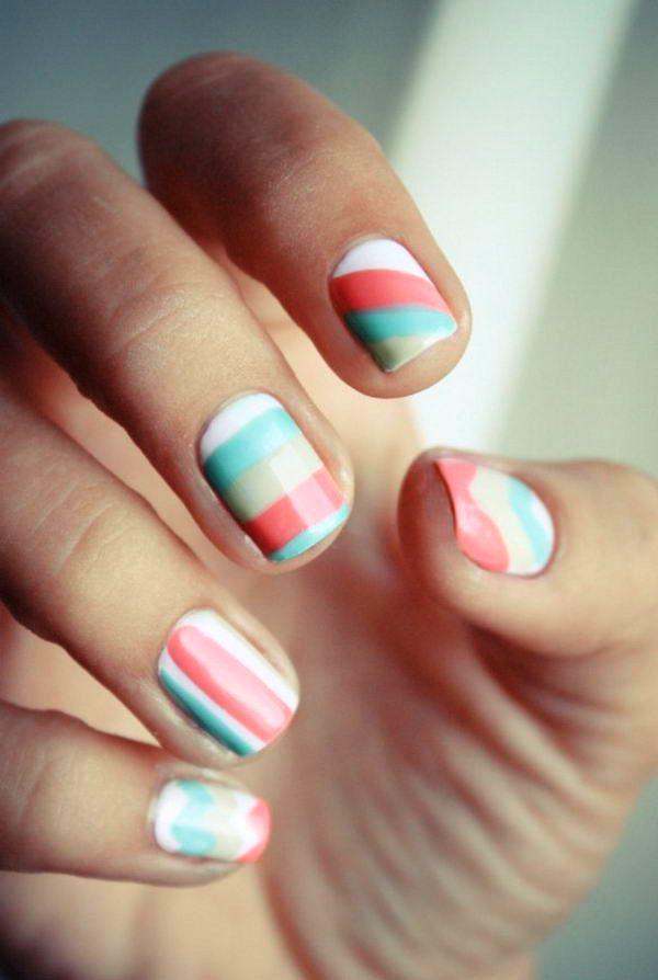 color-block-nail-designs