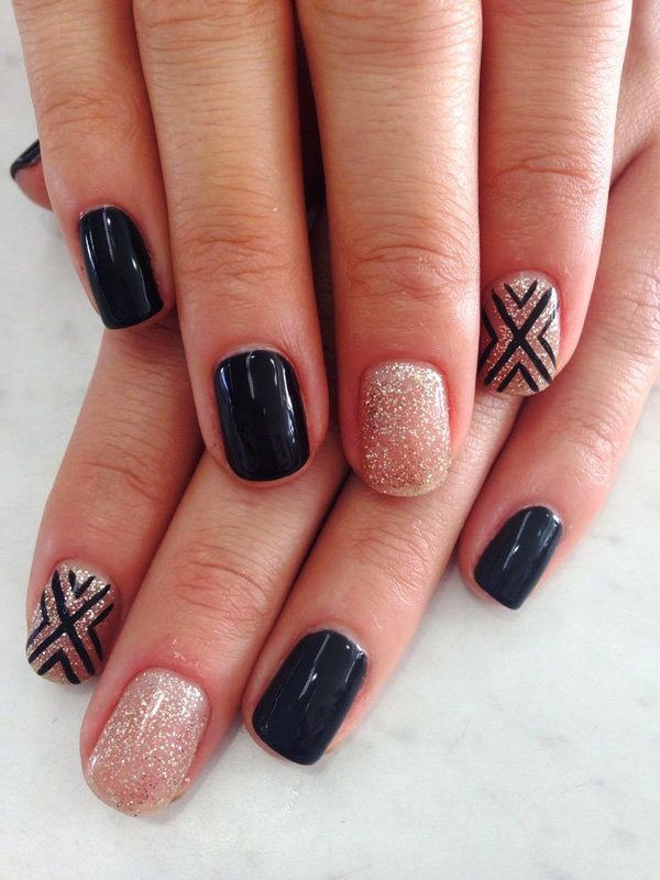 15 Color Contrasts Nail Art Ideas · Inspired Luv