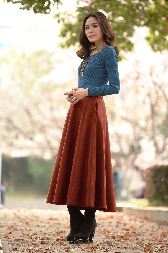 long-skirt-ideas-in-winter