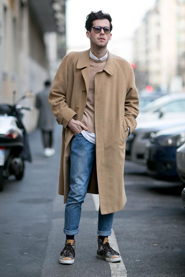 25 Men's Winter Street Fashion Outfit Ideas