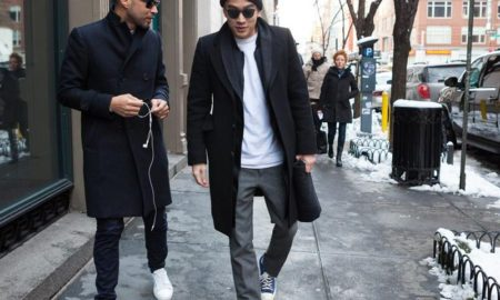 Men's Winter Street Fashion Outfit Ideas (19)