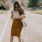 31 Skirt Outfit Works With Almost Any Shirt Or Blouse
