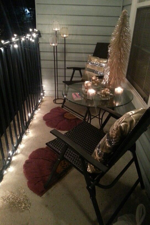 apartment balcony christmas lights apartment christmas decor diy apartment christmas decorating ideas