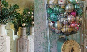 Chritmas vintage decoration