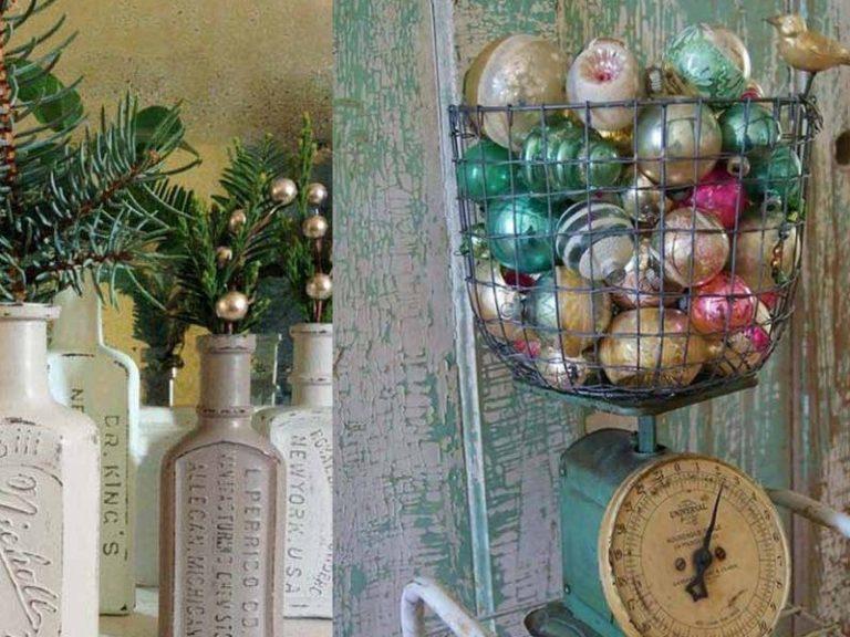 25 Amazing Vintage Christmas Decorating Ideas