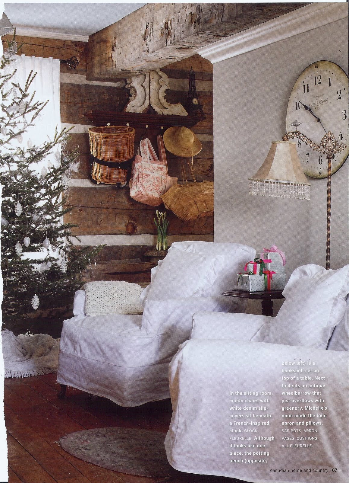 25 awesome country christmas decoration ideas. Black Bedroom Furniture Sets. Home Design Ideas