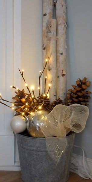 DIY Rustic Christmas Decor
